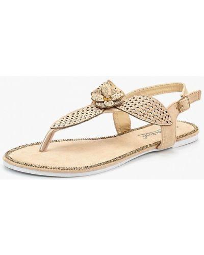 Бежевые сандалии Vivian Royal