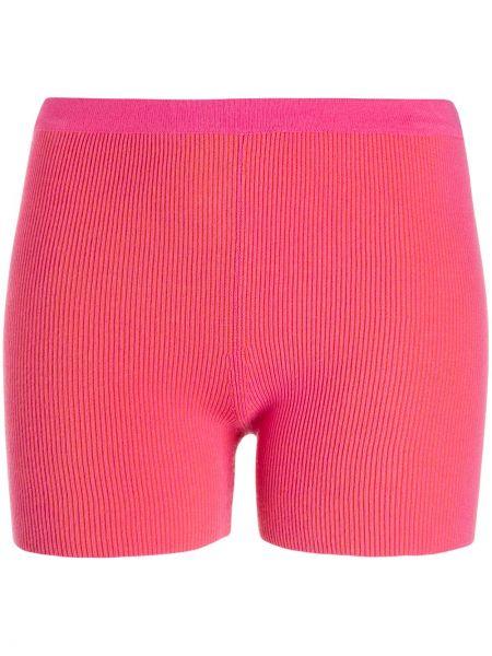 Розовые короткие шорты Jacquemus