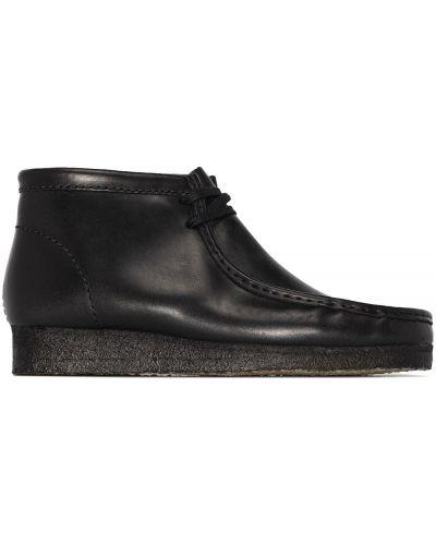 Черные резиновые ботинки Clarks Originals