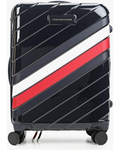 Синий чемодан Tommy Hilfiger