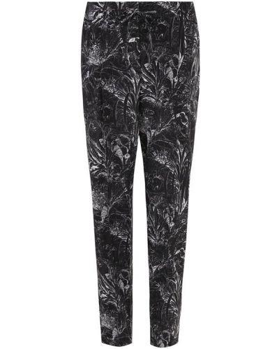 Черные укороченные брюки Windsor