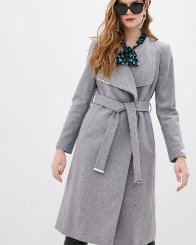 Серое пальто Ted Baker London
