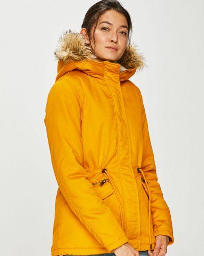 Утепленная куртка прямая на кнопках Only