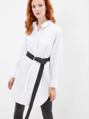 Платье рубашка - белое Vera Nicco