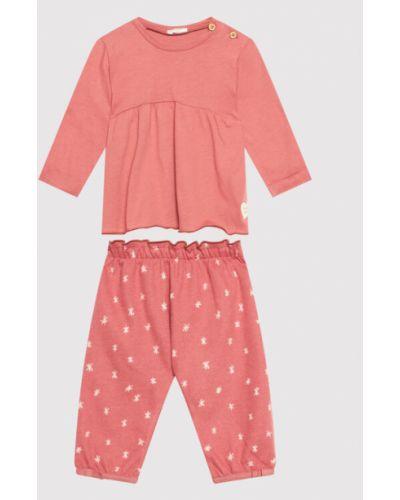 Bluzka - różowa United Colors Of Benetton