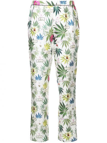 Брюки пижамные в цветочный принт Fleur Du Mal