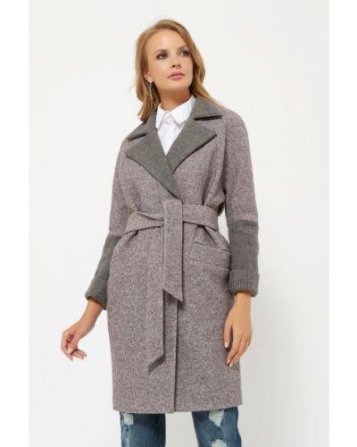 Пальто демисезонное серое Verna Sebe