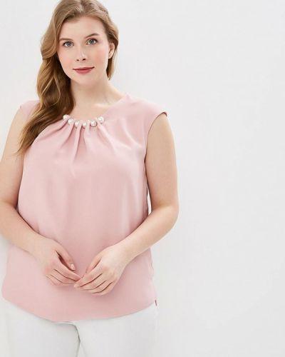 Блузка без рукавов розовая весенний Modis