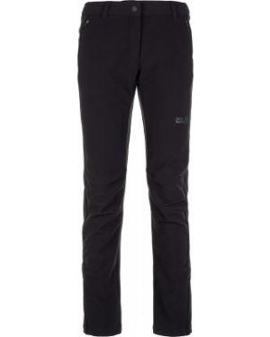 Спортивные брюки утепленные кожаные Jack Wolfskin