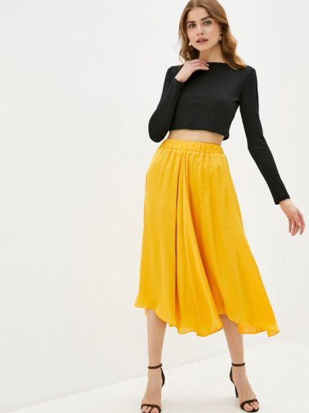 Юбочный костюм желтый черный Trendyangel