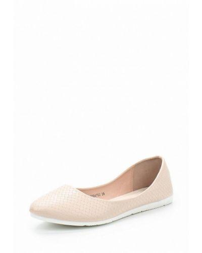 Бежевые балетки кожаные T.taccardi
