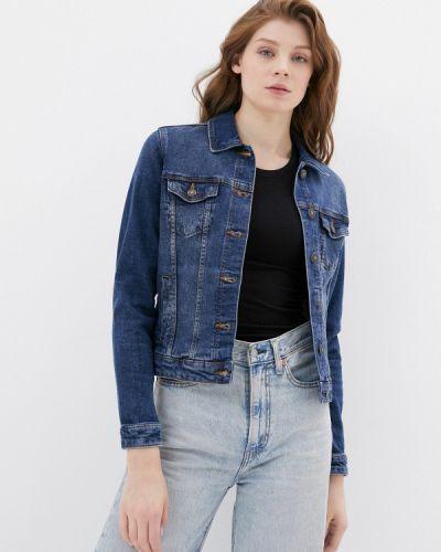 Синяя джинсовая куртка Springfield
