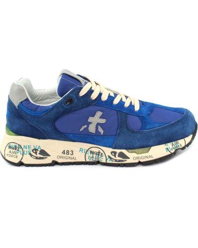 Niebieskie sneakersy Premiata