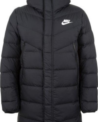 Длинная куртка с капюшоном спортивная Nike