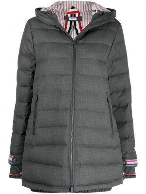 Пуховое пальто Thom Browne