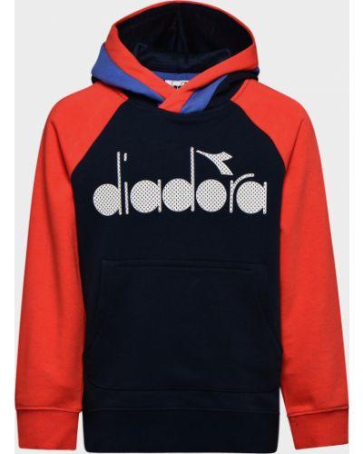 Брендовый свитер Diadora