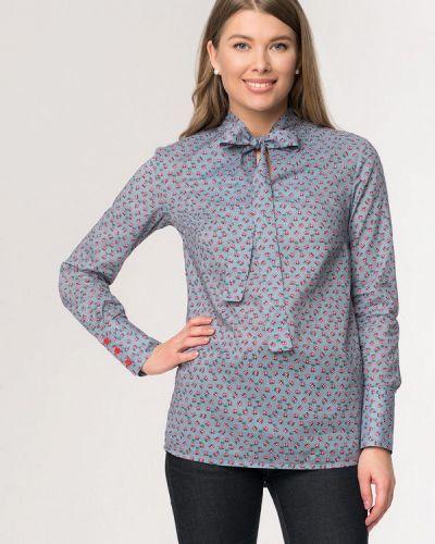 Блузка с длинным рукавом серая A'tani