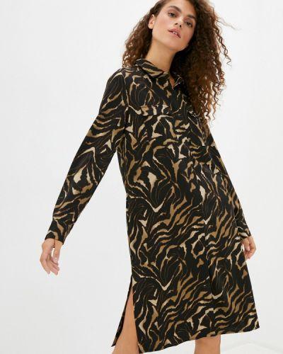 Коричневое платье Savage