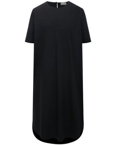 Хлопковое платье - черное 5preview