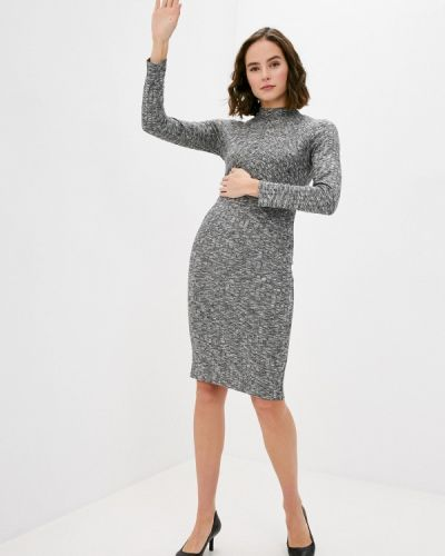 Серое платье-футляр Top Secret