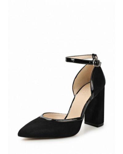 Туфли на каблуке замшевые Zign