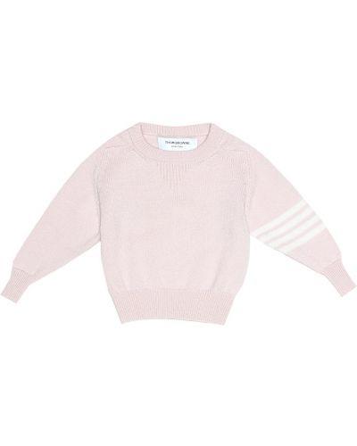 Розовый свитер Thom Browne Kids