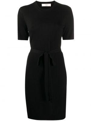 Платье мини короткое - черное Pringle Of Scotland