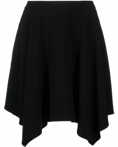 Asymetryczny z wysokim stanem czarny spódnica Stella Mccartney
