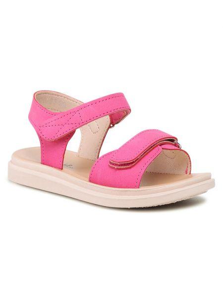 Różowe sandały Nelli Blu