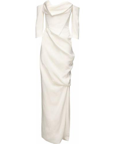 Шелковое платье - бежевое Vivienne Westwood
