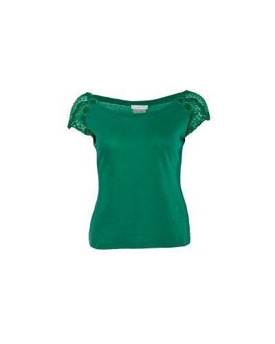 Зеленая футболка Scervino Street