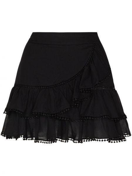 Czarna spódnica mini bawełniana Charo Ruiz Ibiza