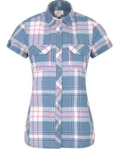 Niebieska koszula Mountain Warehouse