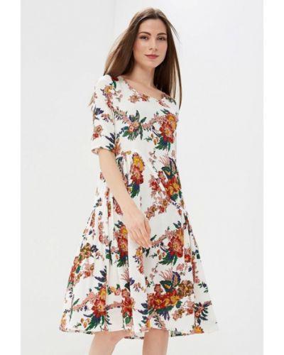 Белое платье весеннее Madam T