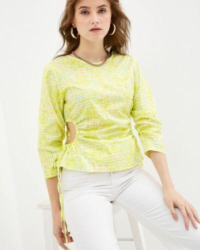 Блузка с длинными рукавами - зеленая Vis-a-vis