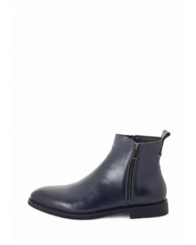 Кожаные ботинки - синие Philip Smit