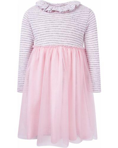 Хлопковое розовое платье Il Gufo