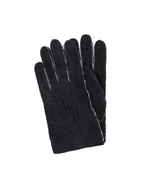 Skórzany rękawiczki Eem-fashion