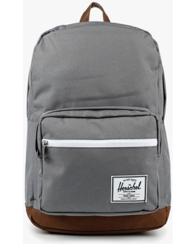 Кожаный рюкзак - серый Herschel Supply Co