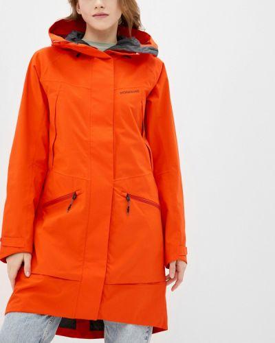 Облегченная оранжевая куртка Didriksons
