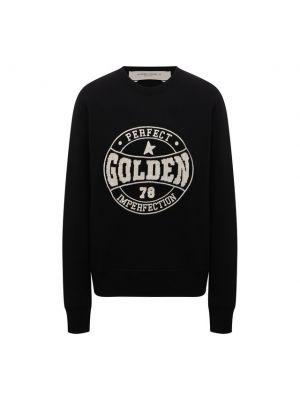 Трикотажный пуловер - черный Golden Goose Deluxe Brand