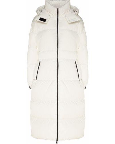 Пальто с капюшоном стеганое на молнии Moncler