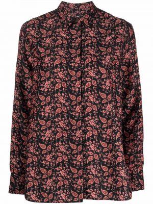 Рубашка с длинным рукавом классическая - черная Paul Smith