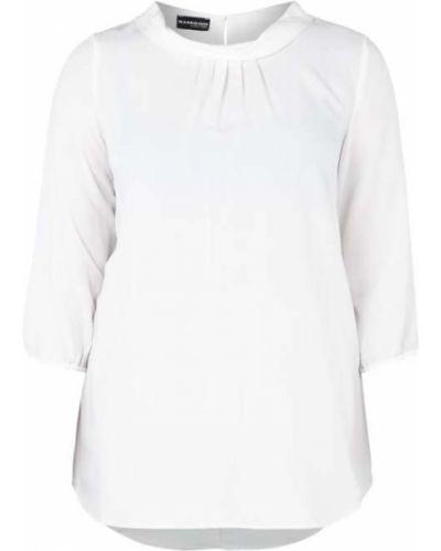 Biała bluzka z wiskozy Samoon