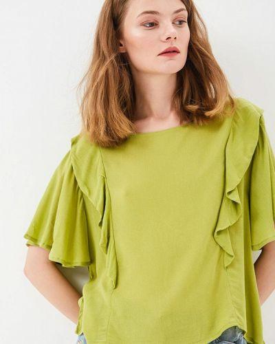 Зеленая блузка Sweewe