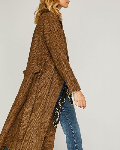 Куртка с поясом прямая Trendyol
