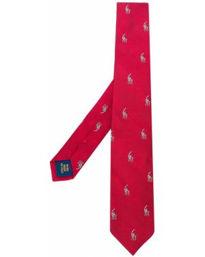 Красный галстук Ralph Lauren Kids