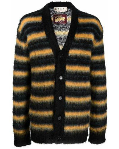 Sweter moherowy - czarny Marni