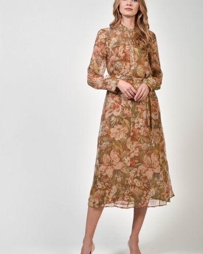 Шелковое платье Luisa Cerano
