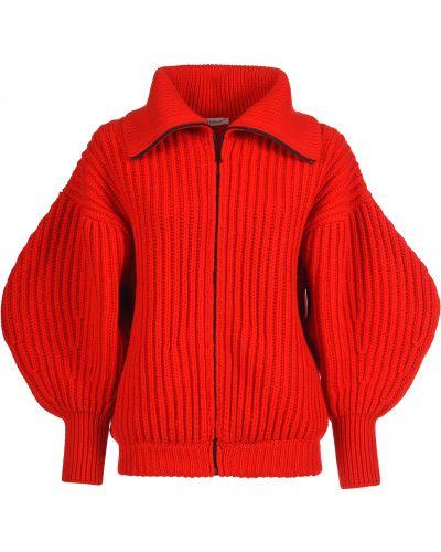 Кашемировая красная кофта Nervure
